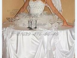 Леди-фуршет девушка стол - фото 1