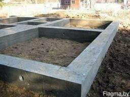 Ленточный фундамент в Могилёве