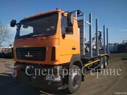 Лесовоз МАЗ 631208 с Kesla 2009ST