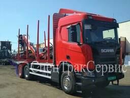 Лесовоз Scania R440/STS/LIV