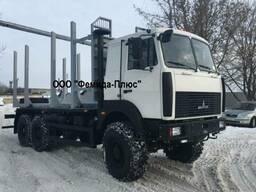 Лесовоз сортиментовоз МАЗ-631708-364 с гидроманипулятором Ма