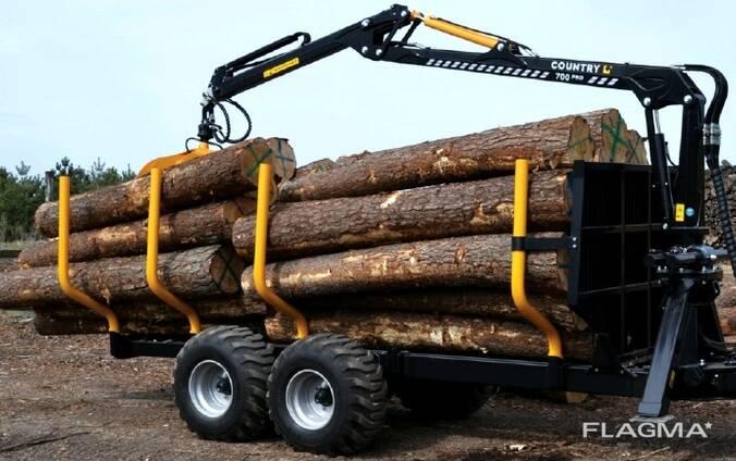 Лесовозная тележка Country T110D-670Master