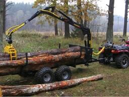 Лесовозная тележка Country T15S-410Smart