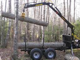 Лесовозная тележка Country T30S-470Master