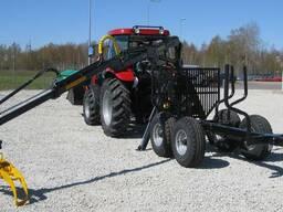 Лесовозный полуприцеп Country T50S-470Master