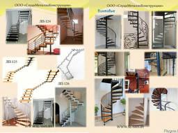 Лестница металлическая наружная - фото 4