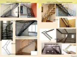 Лестница металлическая внутреняя - фото 4