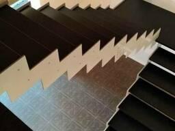Лестница на тонких косоурах