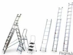Лестницы алюминиевые (стремянки, трансформеры)