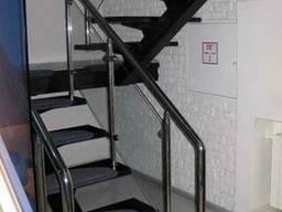 Лестницы металлические на второй этаж