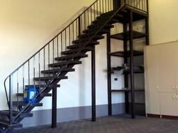 Лестницы металлические, ограждения. перила.