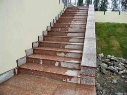 Лестницы, Входные группы из натурального камня
