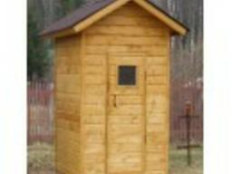 Летняя душевая, для дачи, дачная, хозблок, деревянный, сборн