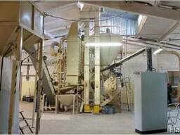 Линия по производству пеллет из сена, соломы, биомассы