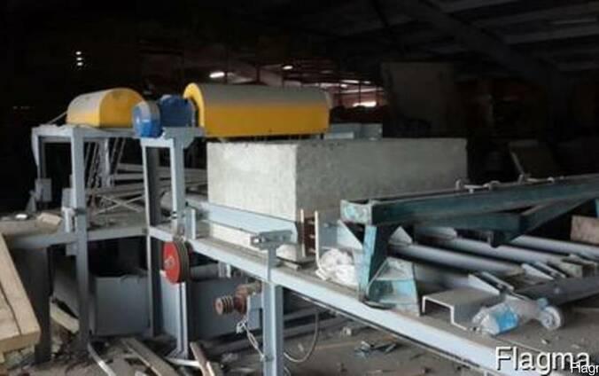 Линия по производству пенобетонных блоков смеситель