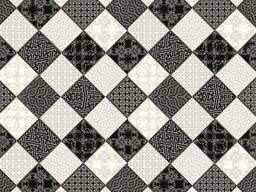Линолеум Juteks (Ютекс) Стронг Плюс Chess 990D