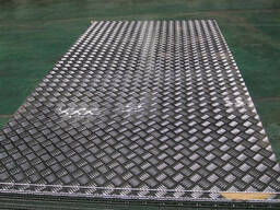 Лист алюминиевый рифленый 1200х3000х1.5