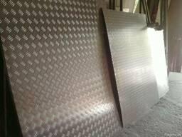 Алюминиевый рифленый лист 1, 5 -2 мм. Резка в размер
