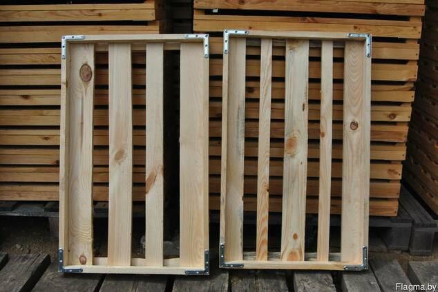 Лоток хлебный деревянный многооборотный