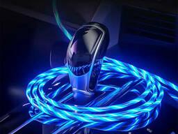 Магнитный кабель для зарядки USB 3 в 1 LED KK21S