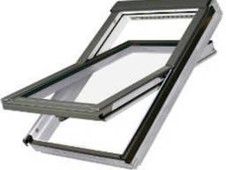 Мансардное окно Fakro PTP-V U3 114x140 (ПВХ, однокамерное)