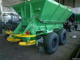 Машина для внесения минеральных удобрений МВУ-5