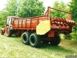 Машина для внесения твердых органических удобрений ПРТ-11