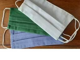 Маска текстильная многоразовая