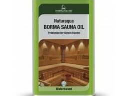 Масло для полков в банях и саунах Borma Wachs sauna-oil