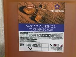 Масло льняное техническое для обработки древесины