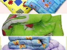 Матрац, подушка и одеяло и постельное бельё - фото 3