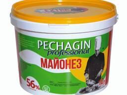 Майонез «Pechagin professional» жирность 56% ведро ПВХ 3 л.