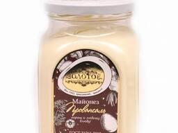 """Майонез """"Золотое качество"""" 600г/6шт, стекло, 67%, провансаль"""