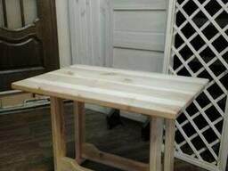 Мебель для бани из дерева. - фото 2