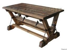 Мебель для бани, терассы, дачи. Садовая мебель. Стол Цепи