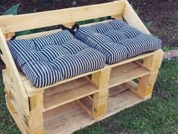 Мебель из поддонов. Диваны, столы, кровати, полки