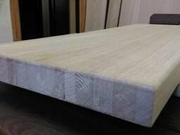 Мебельный щит дубовый сращенный ламельный 20*600*1900