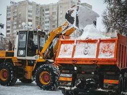 Механизированная уборка и вывоз снега с утилизацией