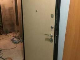 Металлическая дверь | не стандарт | теплая | цельнотгнутая