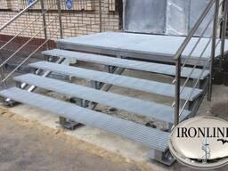 Металлические лестницы технические