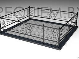 Металлические ограды для могил