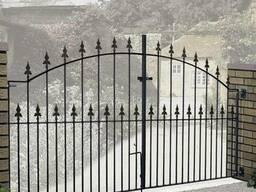 Металлические ворота #2