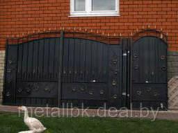 Ворота распашные, Ворота металлические, ворота калитка, Ворота кованые, ворота из. ..