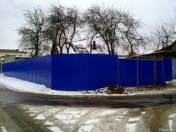 Металлический забор высота 2,0 метра. Рассрочка до 24 мес