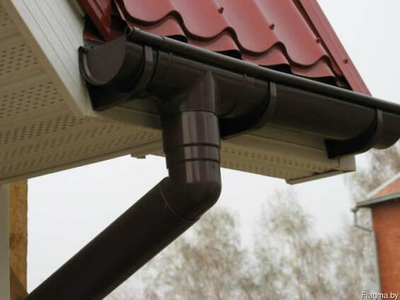 Металлочерепица водосточные системы под ключ.