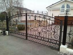 Металлоизделия:заборы, ворота, навесы, балконы, крыльцо
