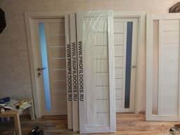 Межкомнатные двери экошпон, массив в наличии и под заказ.
