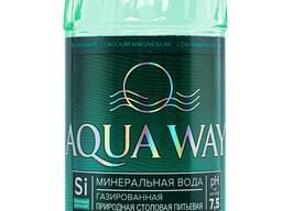 Минеральная природная столовая питьевая вода газированная 0,5 л