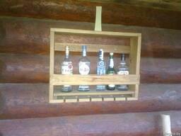 Мини-бар из древесины
