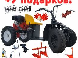 Минитрактор на базе мотоблока Asilak 18 л. с.